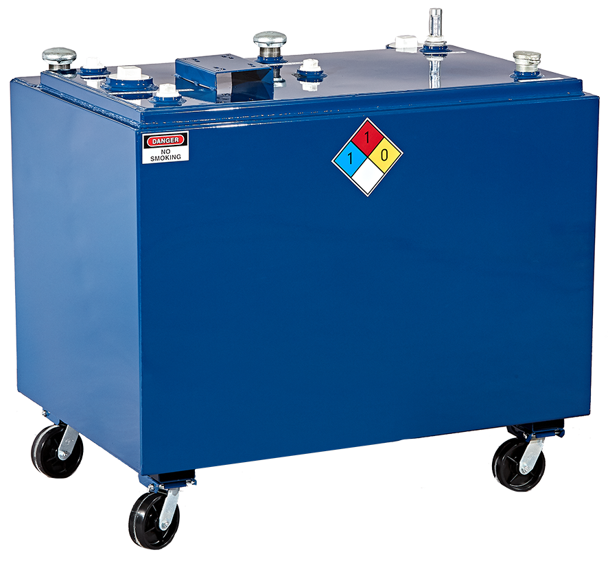 Double wall fresh oil tank, UL listed tank, fresh oil tank, lube oil tank, SPCC compliant tank
